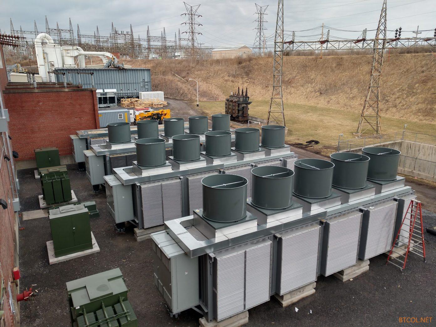 发电量过剩总浪费 美国电厂索性装矿机挖比特币